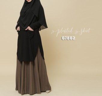 PLEATED SKIRT 67802