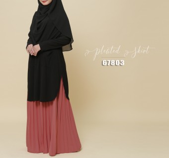 PLEATED SKIRT 67803