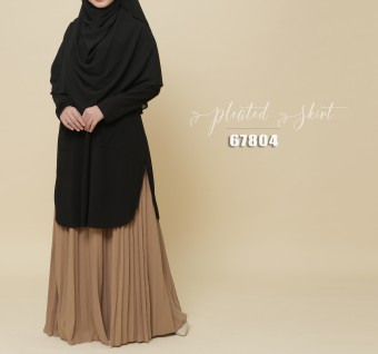 PLEATED SKIRT 67804