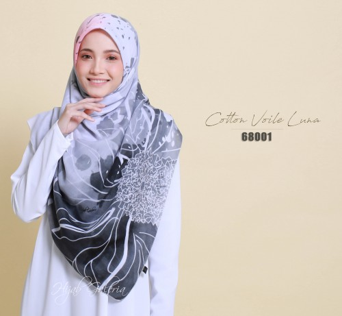 COTTON VOILE LUNA 68001