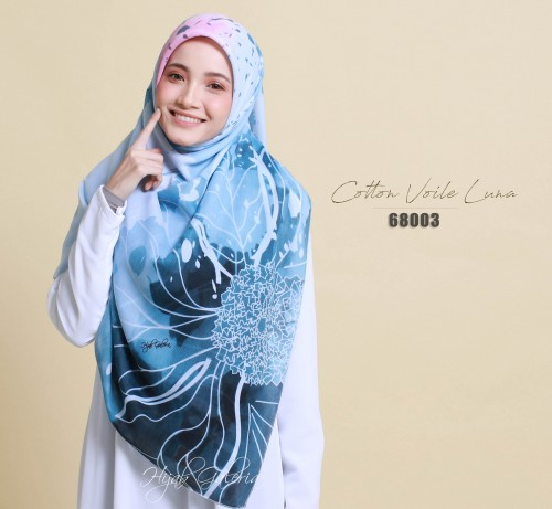 COTTON VOILE LUNA 68003